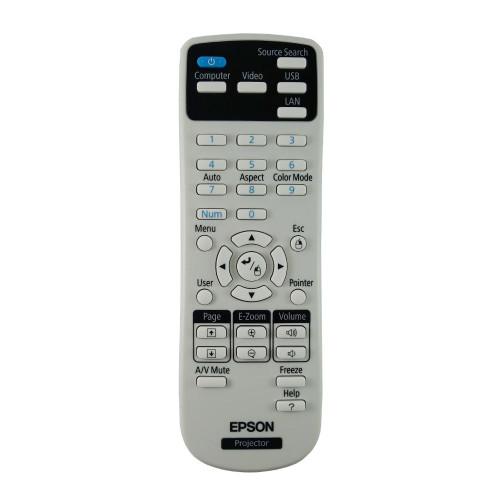 Genuine Epson EB-X20 Projector Remote Control