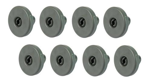 Genuine REX 50286965004 Dishwasher Roller Wheels x 8