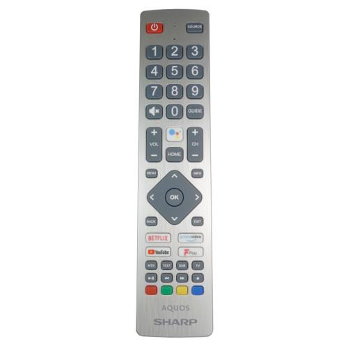 Genuine Sharp SHW/RMC/0134 Voice TV Remote Control
