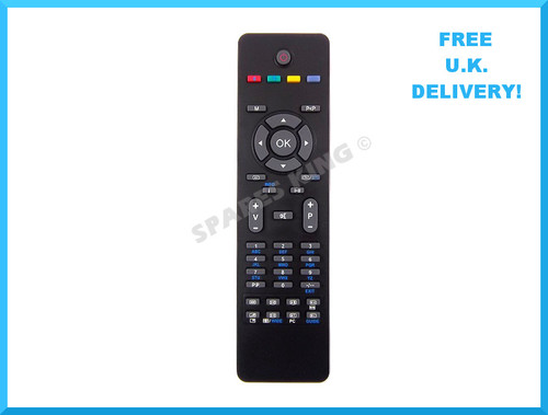 Acoustic Solutions RC1205 TV/ DVD Remote Control