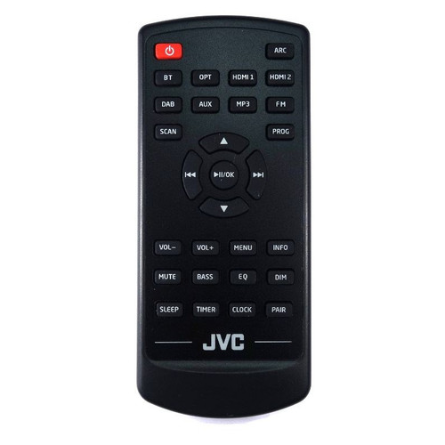 Genuine JVC 105000477 Soundbar  Remote Control