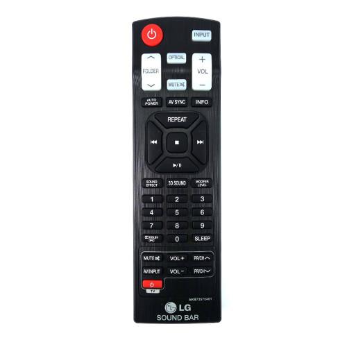Genuine LG  NB2520A Soundbar Remote Control