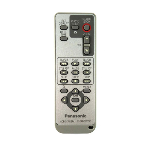 Genuine Panasonic  HDC-SD100EB-K Camcorder Remote Control