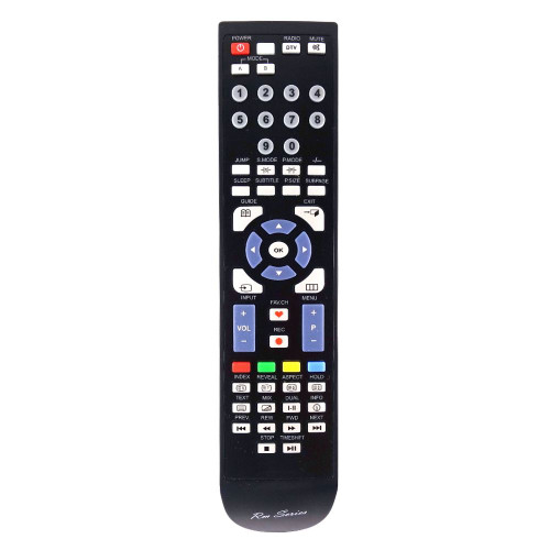 RM-Series TV Replacement Remote Control for Evotel ELED32HDRHD05
