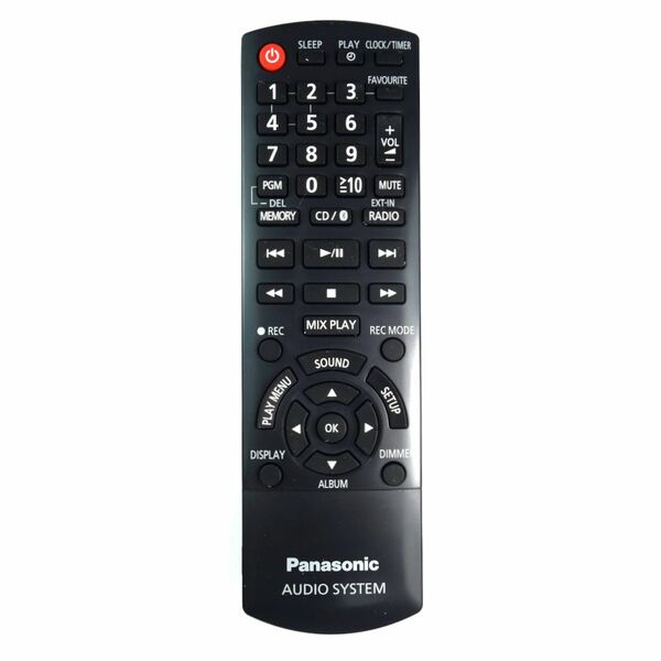 Genuine Panasonic Replaces N2QAYB001102 HiFi Remote Control