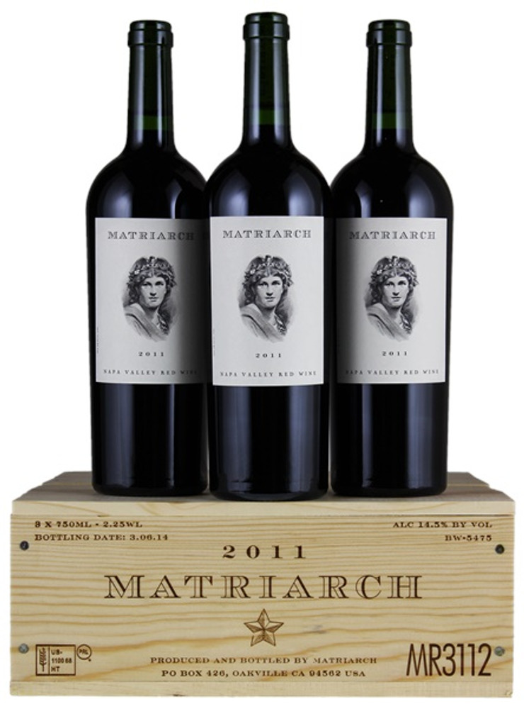 Bond Estates Matriarch Proprietary Red 2011 in OWC (3 x 750ml)