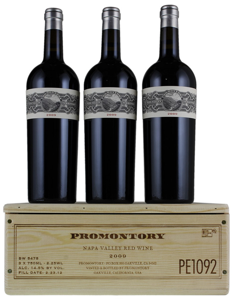 Promontory Proprietary Red Napa Valley 2009 in OWC (3 x 750ml)