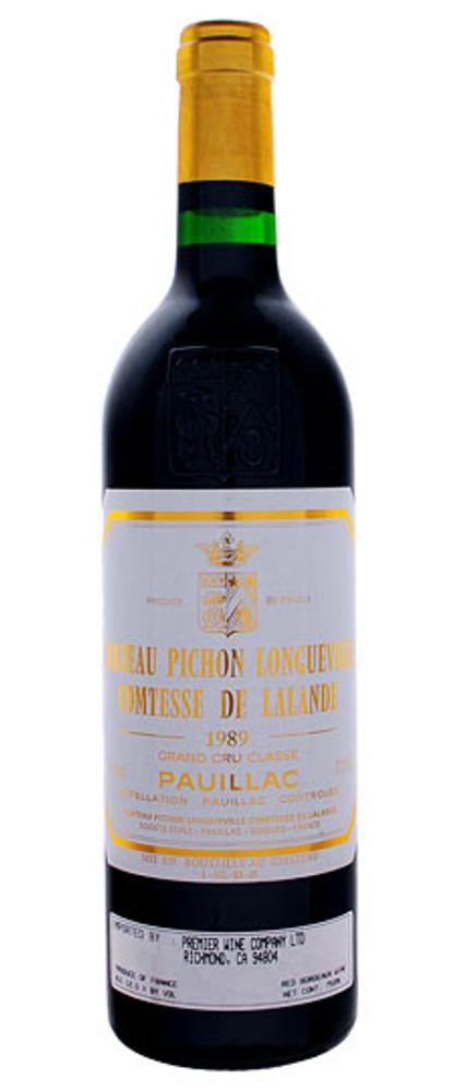 Pichon Lalande 1989 750ml