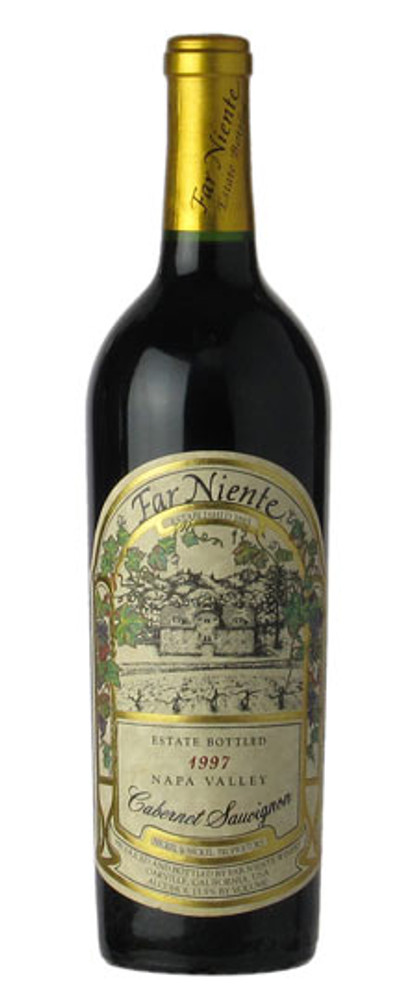 Far Niente Estate Bottled Cabernet Sauvignon Napa Valley 1997 750ml (Writing on Label)