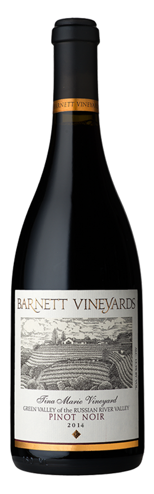 Barnett Vineyards Pinot Noir Tina Marie Vineyard 2014 750ml