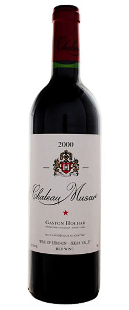 Chateau Musar Rouge Bekaa Valley 2000 750ml