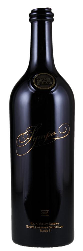 Saint Helena Winery Sympa Reserve Block 1 Cabernet Sauvignon Napa Valley 2008 750ml