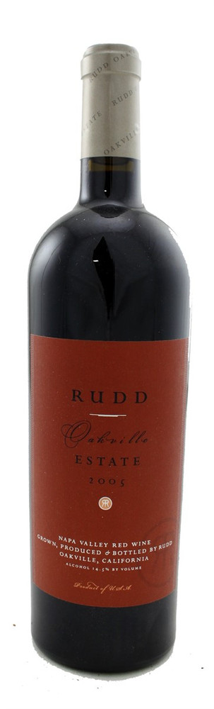 Rudd Oakville Estate Cabernet Sauvignon 2005 750ml