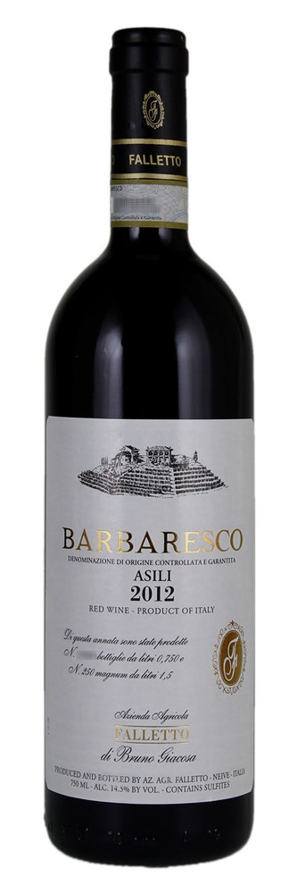 Bruno Giacosa Barbaresco Asili 2012 750ml