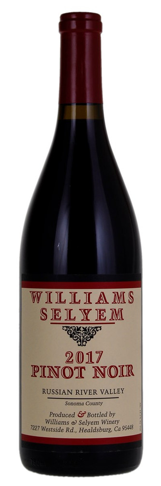 Williams Selyem Pinot Noir Russian River Valley 2017 750ml