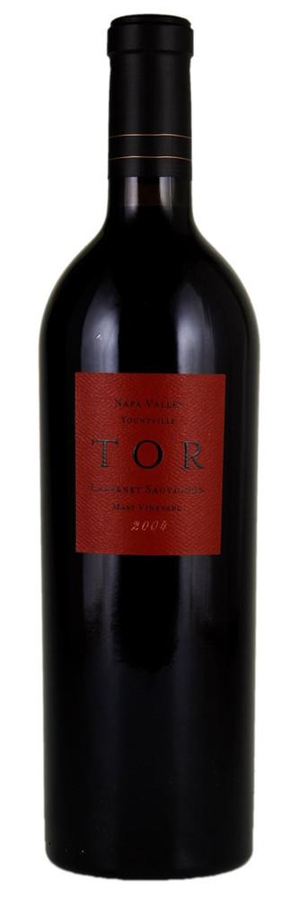 Tor Cabernet Sauvignon Mast Vineyard 2004 750ml