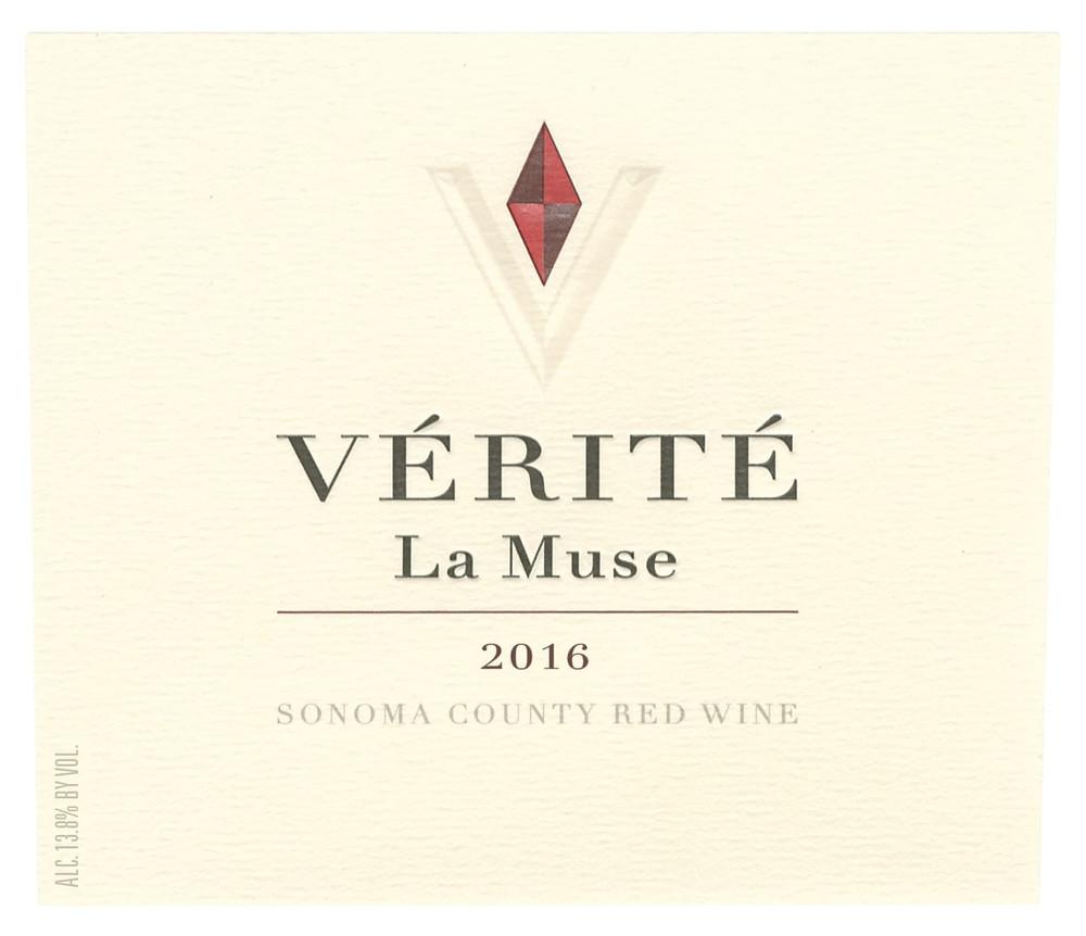 Verite La Muse Sonoma County 2016 750ml