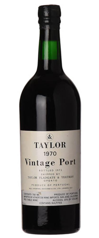 Taylor Fladgate Vintage Port 1970 750ml