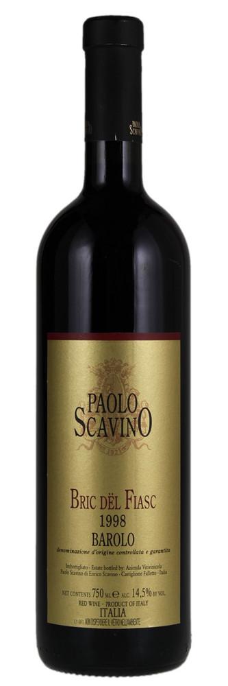 Paolo Scavino Barolo Bric del Fiasc 1998 1500ml [Ex-Domaine]