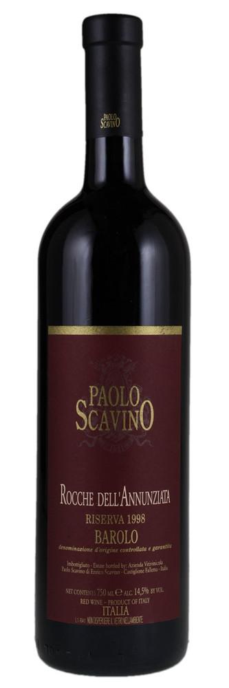Paolo Scavino Barolo Riserva Rocche dell'Annunziata 1998 1500ml [Ex-Domaine]