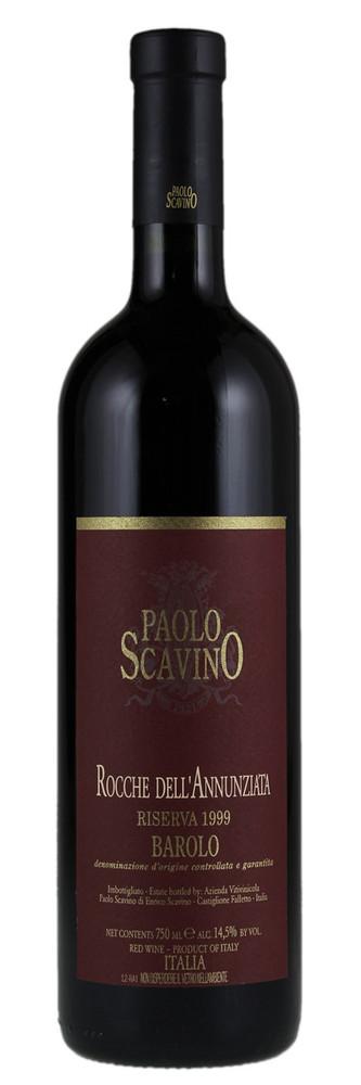 Paolo Scavino Barolo Riserva Rocche dell'Annunziata 1999 1500ml [Ex-Domaine]