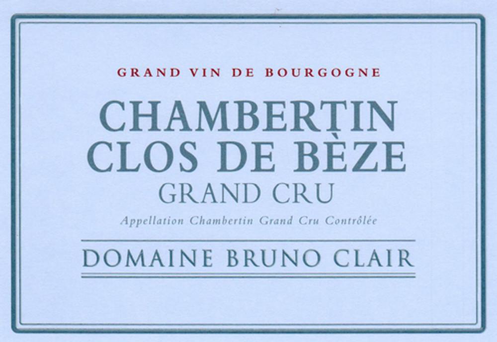 Bruno Clair Chambertin Clos de Beze Grand Cru 2016 1500ml [Ex-Domaine]