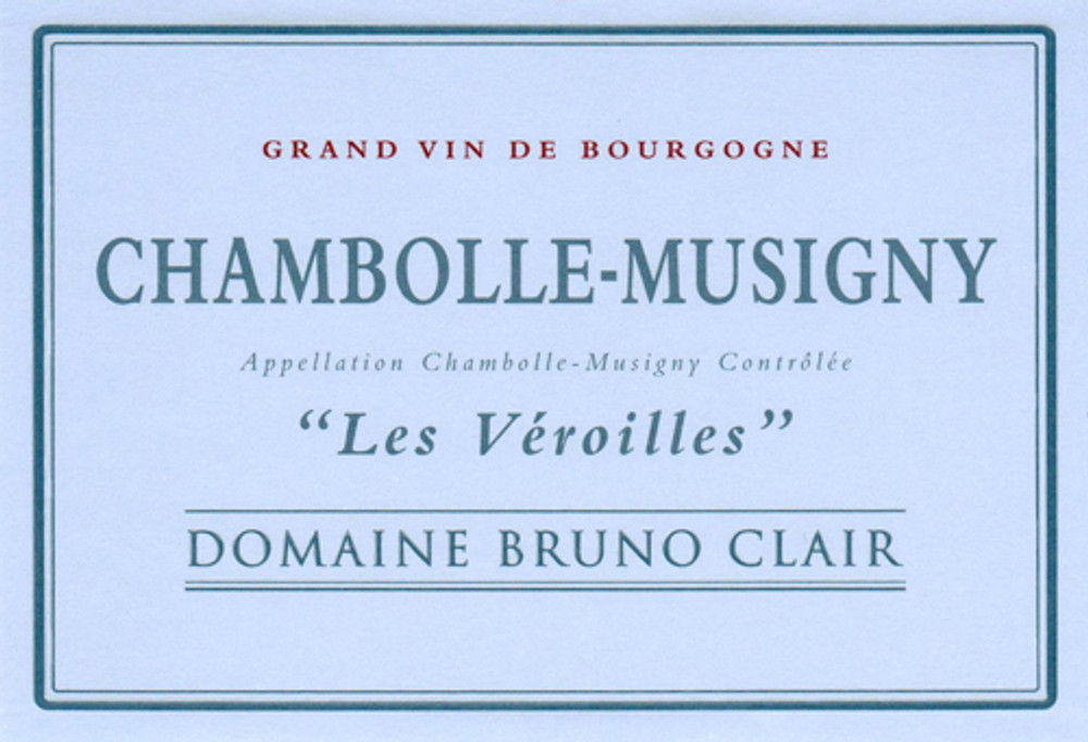 Bruno Clair Chambolle Musigny Les Veroilles 1995 1500ml [Ex-Domaine]