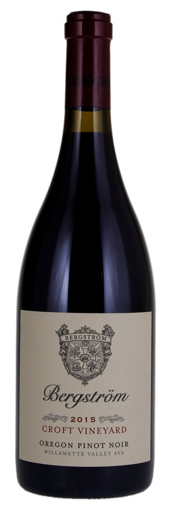 Bergstrom Pinot Noir Croft Vineyard 2015 750ml