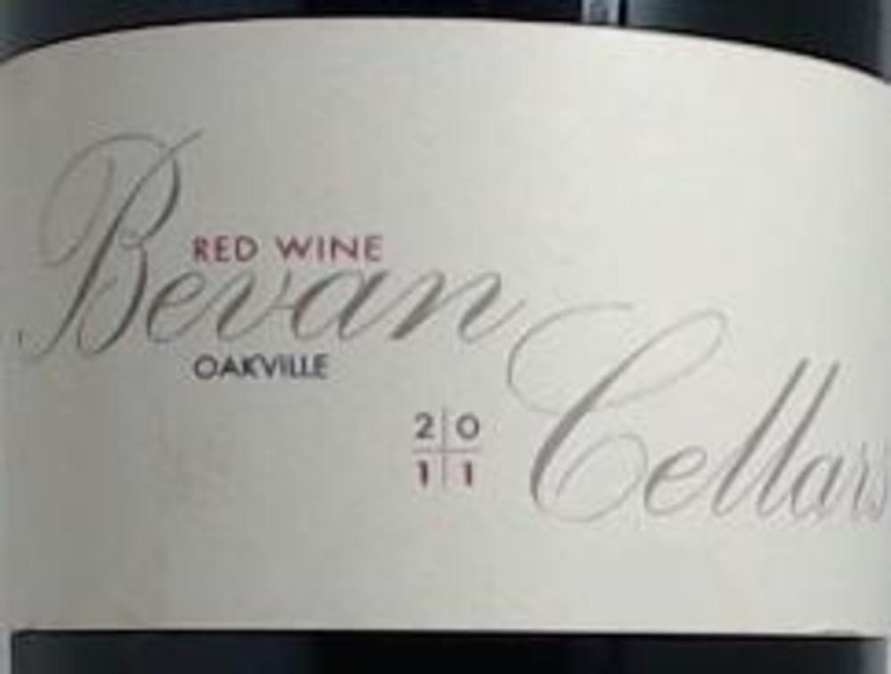 Bevan EE Red Wine Oakville 2011 750ml