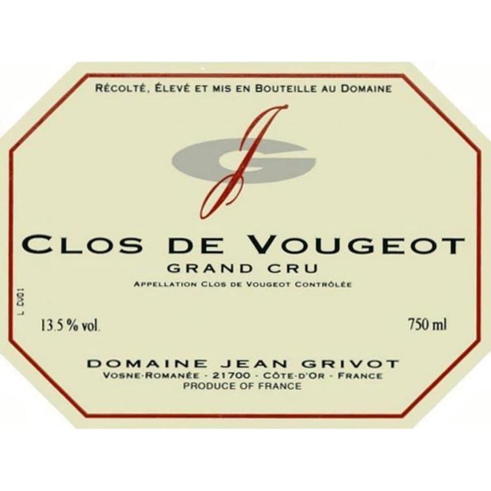 Domaine Jean Grivot Clos de Vougeot Grand Cru 2005 750ml