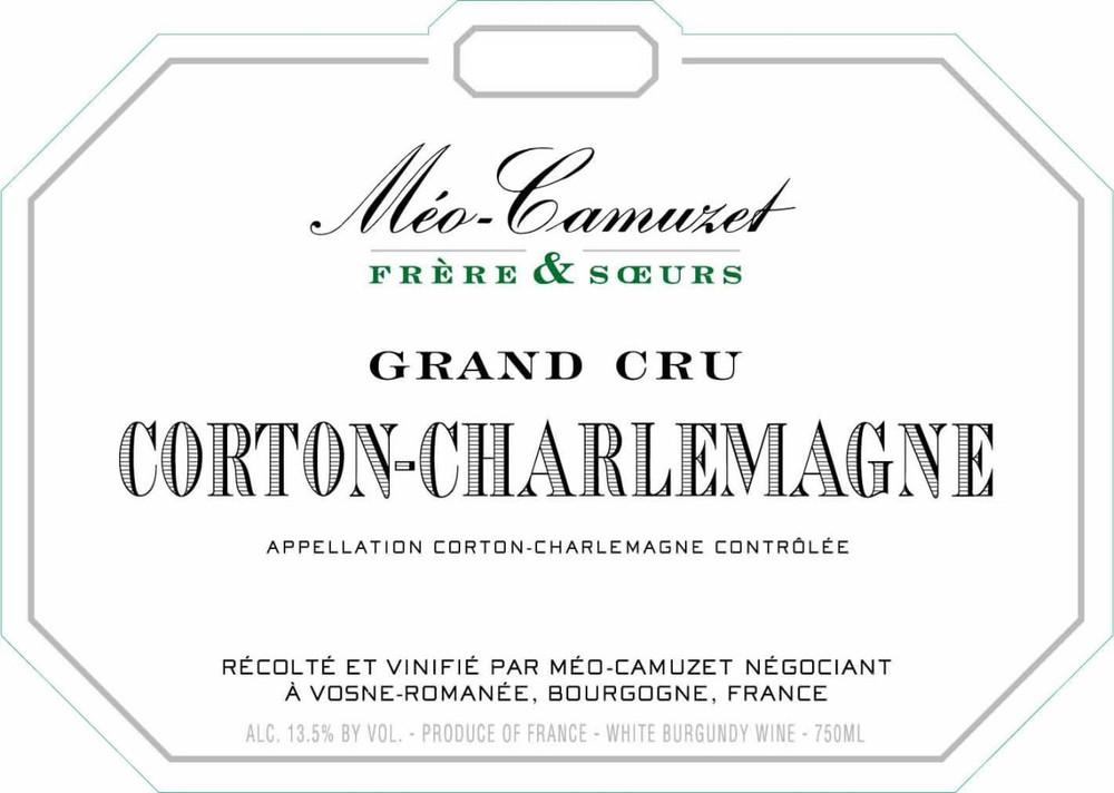 Meo Camuzet Frère et Soeurs Corton Charlemagne Grand Cru 2018 750ml