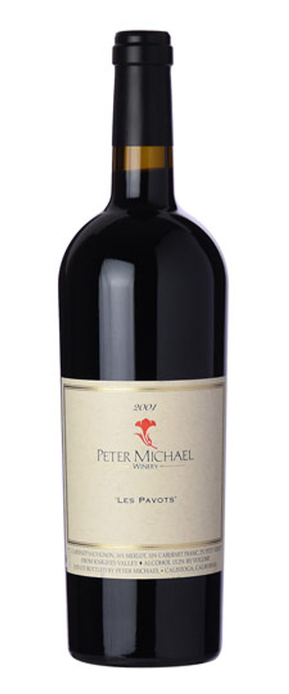 Peter Michael Les Pavots Knights Valley 2001 750ml