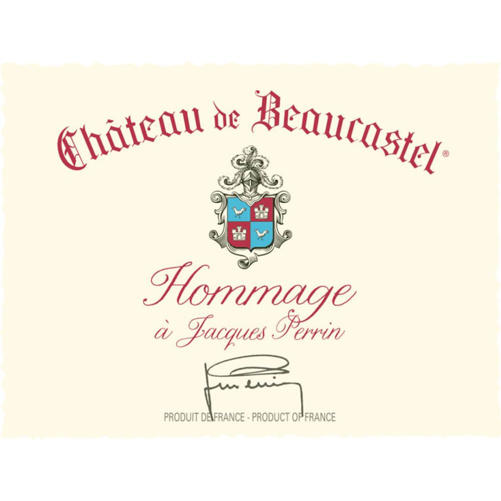 Chateau de Beaucastel Chateauneuf-du-Pape Hommage a Jacques Perrin1999 3000ml