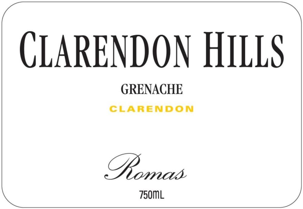 Clarendon Hills Grenache Romas Vineyard 2003 750ml