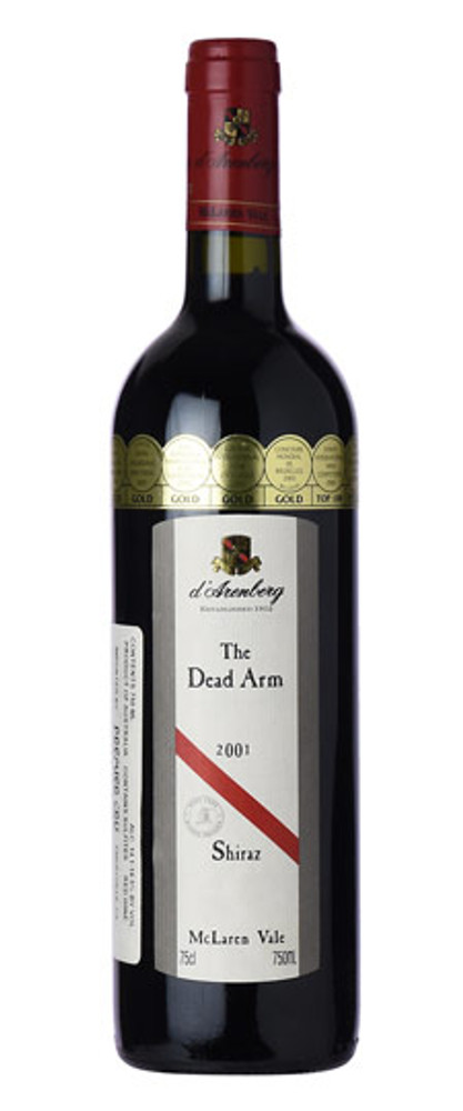 D'Arenberg The Dead Arm Shiraz McLaren Vale 2001 750ml