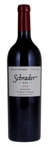 Schrader RBS Cabernet Sauvignon Beckstoffer To Kalon Vineyard 2014 750ml
