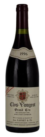 Jean Raphet Clos de Vougeot Grand Cru 1996 750ml