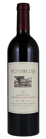 Spottswoode Family Estate Grown Cabernet Sauvignon Napa Valley 2012 750ml
