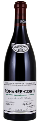Domaine de la Romanee-Conti Romanee-Conti Grand Cru 2013 750ml