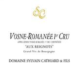 Domaine Sylvain Cathiard Vosne Romanee Aux Reignots 1er Cru 2014 750ml