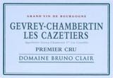Bruno Clair Gevrey Chambertin Les Cazetiers 1er Cru 1993 750ml [Ex-Domaine]