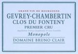 Bruno Clair Gevrey Chambertin Clos du Fonteny 1er Cru Monopole 1993 750ml [Ex-Domaine]