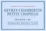 Bruno Clair Gevrey Chambertin Petite Chapelle 1er Cru 2002 750ml [Ex-Domaine]