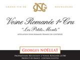 Georges Noellat Vosne Romanee Les Petits Monts 1er Cru 2012 750ml