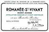 Domaine de la Romanee-Conti Romanee-Saint-Vivant Grand Cru 2016 750ml