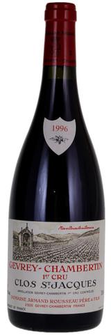 Domaine Armand Rousseau Gevrey-Chambertin Clos Saint Jacques 1er Cru 1996 750ml