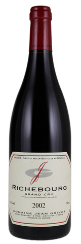 Domaine Jean Grivot Richebourg Grand Cru 2002 750ml