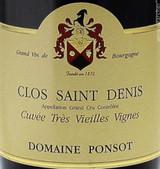 Domaine Ponsot Clos Saint Denis Grand Cru Cuvee Tres Vieilles Vignes 2001 750ml