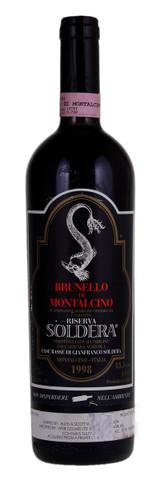 Case Basse Soldera Brunello di Montalcino Riserva 1998 750ml