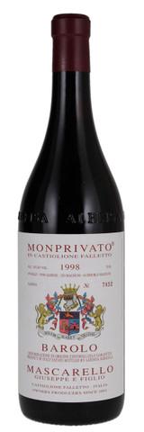 Giuseppe Mascarello Barolo Monprivato 1998 750ml
